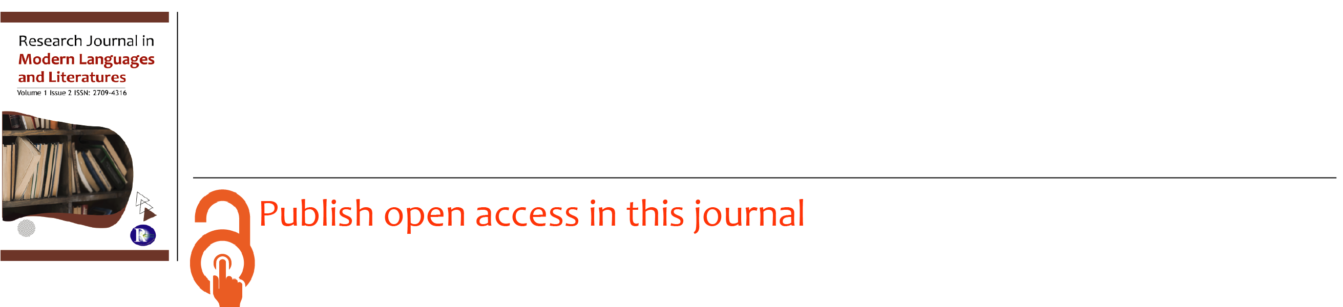 Research Journal in  Modern Languages and Literatures