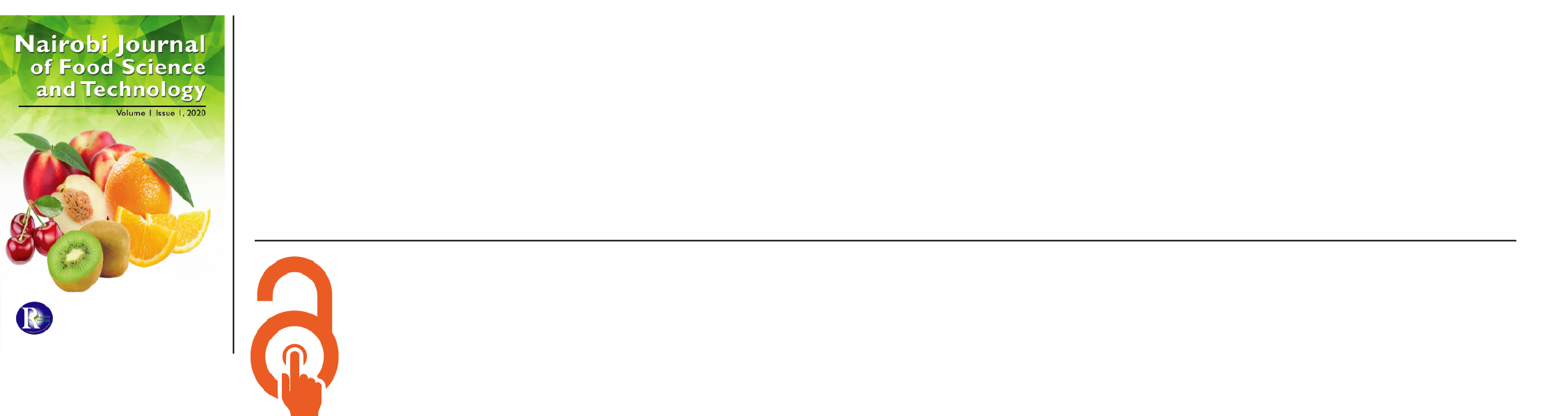 Nairobi Journal of Food Science and Technology